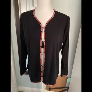 Misook exclusively  blouse size S black